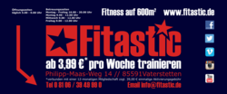 Thumb fitness studio banner
