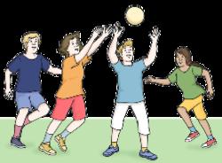 Thumb ball spielen